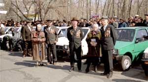 Ветераны ждут команду: «По машинам!»