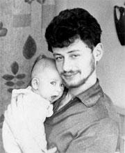 Сыну Антошке – три месяца… Иркутск. 1968 год.