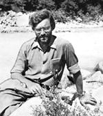 Анатолий Наглер в экспедиции на Кавказе. 1981 год.