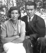 Родители Юрия Забелина – Валентина Александровна и Николай Андреевич Забелины – на курорте «Аршан» в Бурятии за две недели до начала Великой Отечественной войны. Июнь 1941 года.