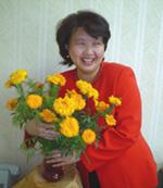 «Цветы – моя слабость», – признаётся Елена Лапкар.