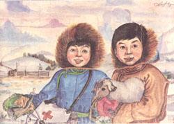 «Дети чабана». 1985 год.