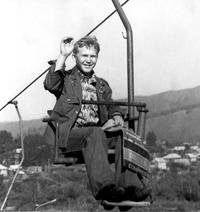 Во время экскурсии на «Красноярские столбы». Погоны ещё ждут своего часа, 1980 год, г. Красноярск.