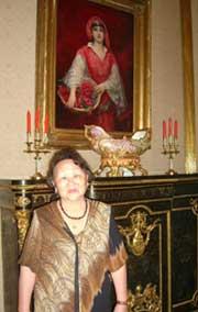 Светлана Биче-оол (ТИГИ) в Посольстве Турции в Москве.