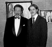 Илья Синкин и Станислав Бэлза. Москва, 1996 год.