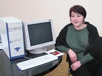 Этот компьютер Дина Мельниченко увезла домой в Бай-Хаак.
