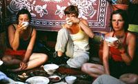Чай в тувинской юрте. 2004 год.