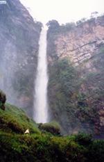 Водопада Итикира. Самый высокий свободнопадающий водопад в Бразилии. Его высота – 182 метра.