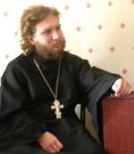 настоятель Кызыльской Свято-Троицкой церкви протоиерей Вячеслав Дементьев
