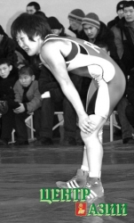 Лориса Ооржак вернулась в большой спорт