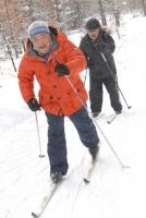 Отбросьте коньки. становитесь на лыжи!
