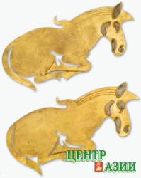 На главе его злат венец