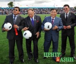 Новая эра тувинского футбола –  евростадион