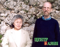 "Valentina Suzukei and Ted Levin- co-authors of ""Where Rivers and Mountains Sing: sound, music and nomadism in Tuva and beyond"", published in USA IN 2006."