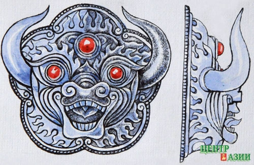 герб республики тыва