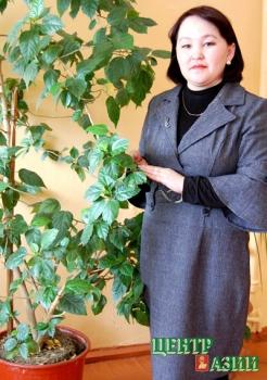Аелита Сергеевна Самдан, учитель биологии