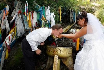 Свадьба с переодеваниями