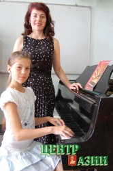 Людмила Сергеевна Грехова, преподаватель фортепиано