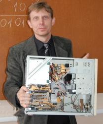 Андрей Иванович Ковито, учитель информатики