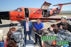 Кызыл-Новосибирск и обратно – на восьмиместном самолете
