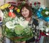 Наталья Владимировна Адониева, индивидуальный предприниматель, цветочный салон «Цветы нашего города», Кызыл