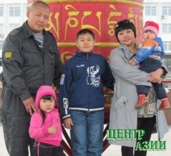 Айдын Маадыр-оолович Данзын, папа троих детей, 30 лет, житель Кызыла
