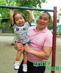Намзырай Юрьевич Сат, 24 года, житель Кызыла, папа маленького Кан-Болата