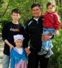 Чойган Владимирович Очур-оол, 35 лет, папа трёх детей, житель Кызыла