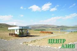 Долину царей обслуживает степной офис Сбербанка