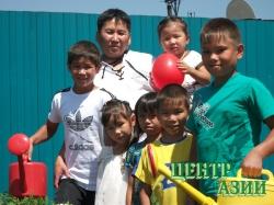 Михаил Михайлович Ховалыг, папа девяти детей, в том числе – семерых приёмных, 49 лет, житель Кызыла