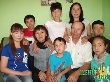 Леонид Думен-оолович Куулар, папа девяти детей, 48 лет,  житель Кызыла