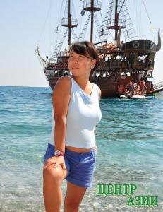 Международный туризм: турецкий опыт тувинской девушки в свободном плавании