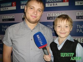 Константин Александрович Куцевалов, папа первоклассника Данила, 27 лет, житель Кызыла