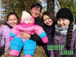 Виктор Николаевич Санаа, папа трёх дочерей, 34 года, житель Кызыла