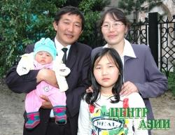 Баярсайхан Бадарч, папа троих детей, 40 лет, житель Кызыла