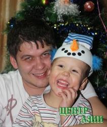 Дмитрий Викторович Пахоруков, папа маленького Ярика, 29 лет, житель Кызыла