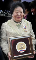 Ошку-Саар Ооржак из Монгун-Тайги стала элитой нации