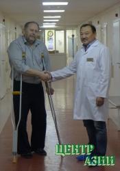Вячеслав Ондар.Титановый протез