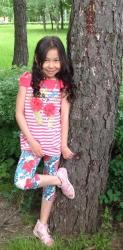 Волшебные звёзды и крепкие корни девятилетней Вероники Чапсын