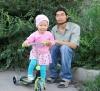 Денис Валерьевич Монгуш, папа двухлетней Алисы, 26 лет, житель Кызыла