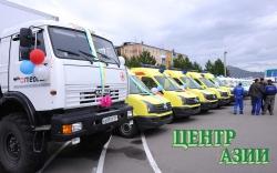 Пятнадцать современных медицинских автомобилей – для Кызыла и районов республики