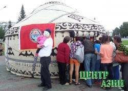 Киргизская юрта признана лучшей на тувинском войлочном фестивале
