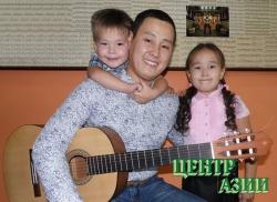 Хулер Бактай-оолович Лопсан, 28 лет, папа двух детей, житель Кызыла