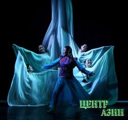 Первый успех новорождённого тувинского театра кукол: Земной шар за пластику