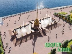 Бетонный обелиск «Центр Азии» снесён, новый символ Тувы – бронзовый – куёт Даши Намдаков