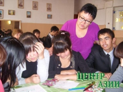 Анжелика Доржу, преподаватель русского языка и литературы из села Сукпак, признана лучшим учителем 2014 года