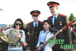 Фанфары в центре Азии: музыка без границ