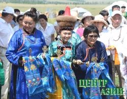 В Туве на берегу озера Чагытай открылась обитель Будды