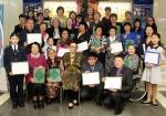 Церемония награждения финалистов исторического марафона кроссвордов «Люди Центра Азии»: они нашли это одно-единственное слово