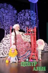 Пушкинская няня помолодела в тувинском кукольном театре